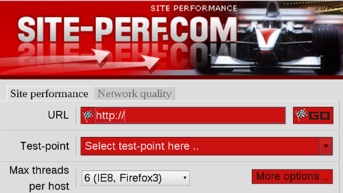Главная страница сайта Site-Perf