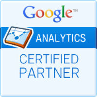 Логотип сертифицированного партнера Google Analytics