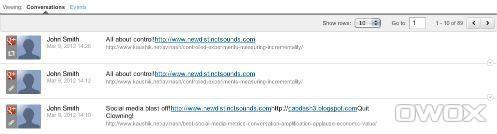Перепосты и обсуждения для Google+
