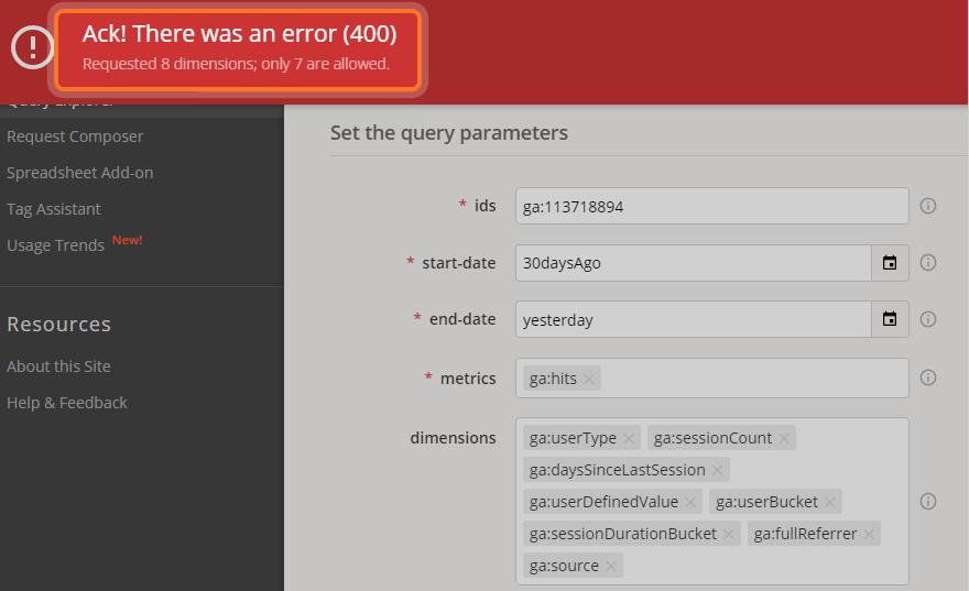Отчет с помощью  Core V3 API