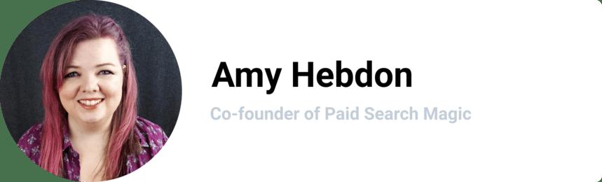 Amy Hebdon