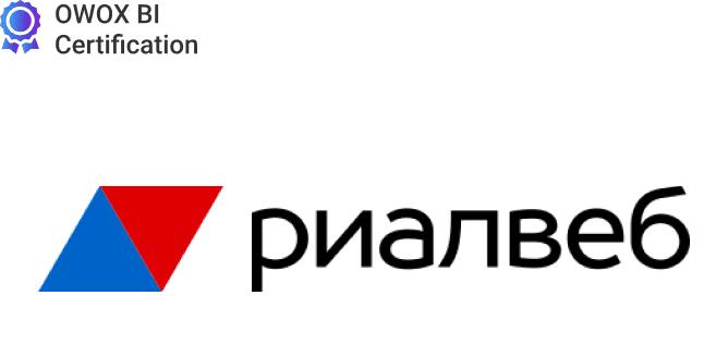 Логотип Риалвеб