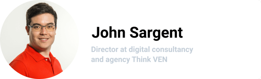 John Sargent, Director at digital consultancy and agency Think VEN