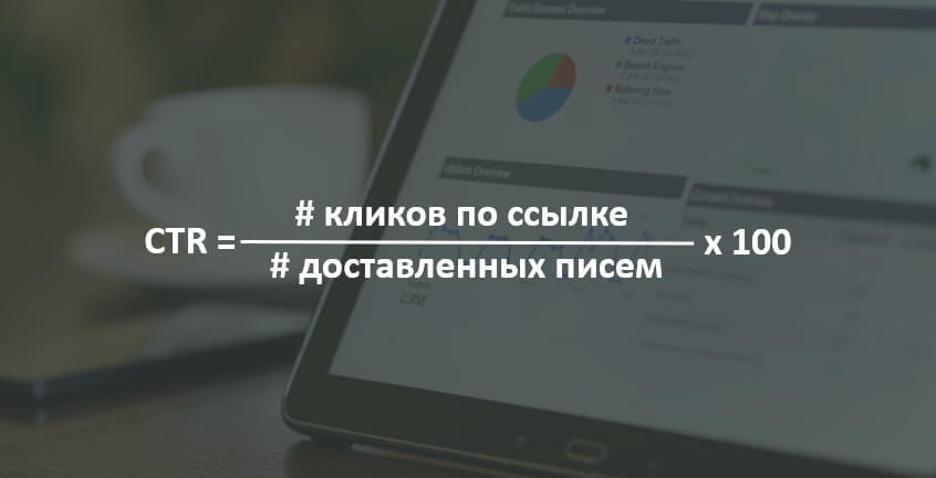 Формула Click-throughs rate